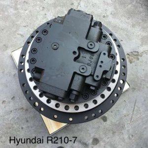 Редуктор хода Hyundai R220LC-7 с мотором
