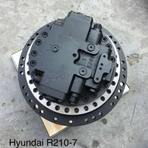 Редуктор хода Hyundai R250LC-9 с мотором
